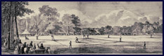 1859 Elysian Fields Baseball Game. Click to enlarge.