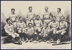 1874 Boston Red Stockings. Click to enlarge.