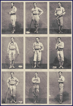1874 Philadelphia Athletics. Click to enlarge.