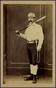 19th Century Batsman. Click to enlarge.
