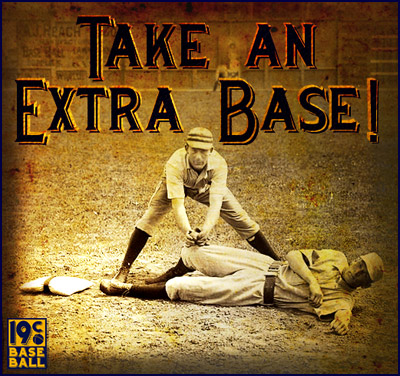 Get authentic style 1877–1900 replica bases! Only at 19cbaseball.com.