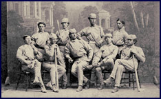 Antioch College Base Ball Club photo. Click to enlarge.