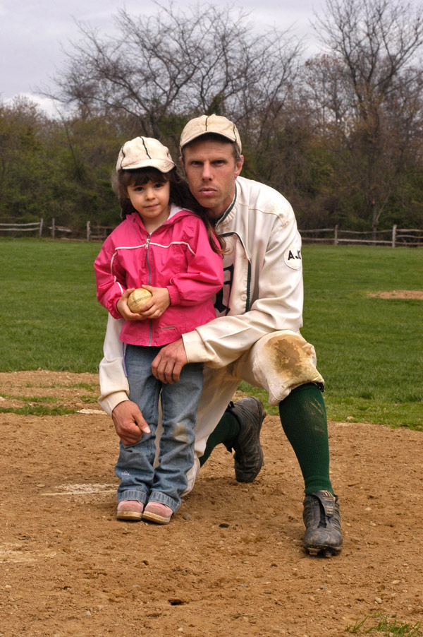 Christina and Dad, 04-29-07. The future of the NY Mutuals. Photo courtesy of Ray Shaw. Click photo to return to previous page.