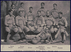 Cornell University Base Ball Team, 1896. Click to enlarge.
