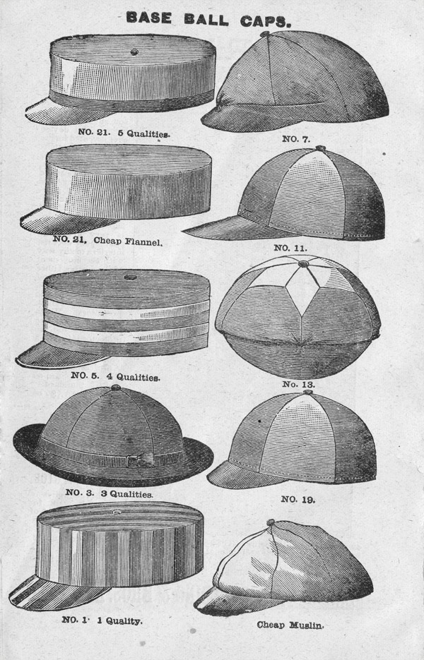 Baseball History 19th Century Baseball Image Base Ball Caps