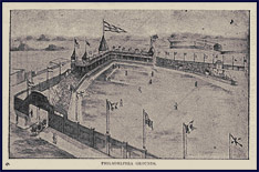 Philadelphia Base Ball Grounds. Click to enlarge.