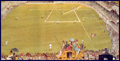 Polo Grounds, New York 1887. Click to enlarge.