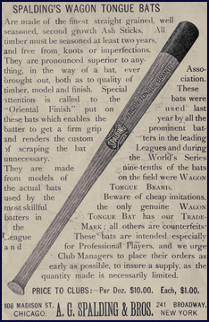 the history of the baseball bat Browse new and clearance baseball bats from top brands at baseballmonkey choose from bbcor, youth, big barrel and senior baseball bats today.