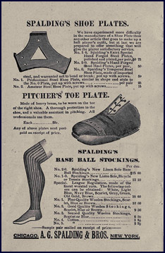 The Pitcher's Toe Plate. Click to enlarge.
