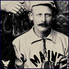 Detail from the U.S.S. Maine Baseball Team photo. Click to enlarge.