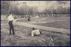 Vanderbilt University, Tennessee baseball game circa 1890. Click to enlarge.